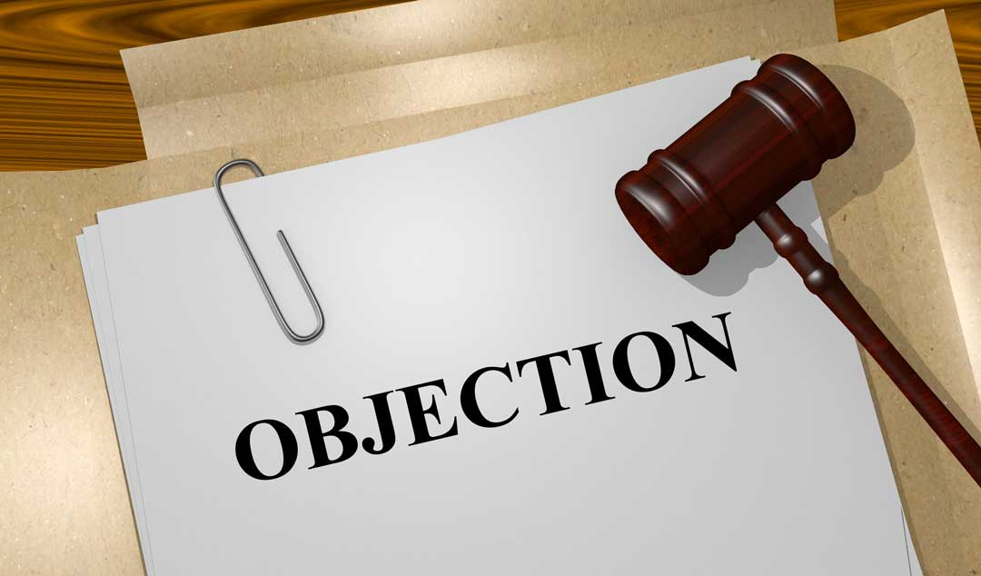 Notice of Objection