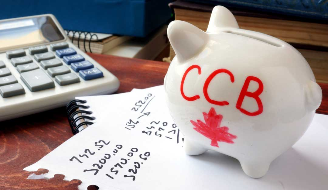 How much is child benefit in Canada per month?